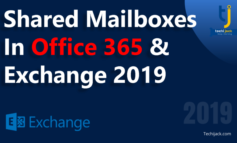 shared mailboxes in office 365